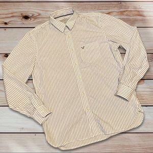 🎉3for$15🎉 American Eagle Striped Button-Up Shirt